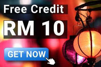 Get Free RM10 Bonus 4D Online Betting Malaysia!
