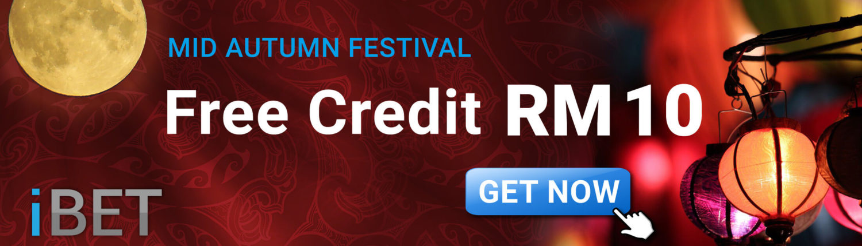 Get Free RM10 Bonus 4D Online Betting Malaysia!benner