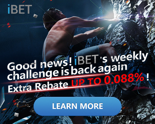 iBET Weekly Challenge – Earn extra rebate bonus